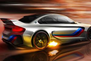 2020 BMW Vision Gran Turismo 4k Wallpaper