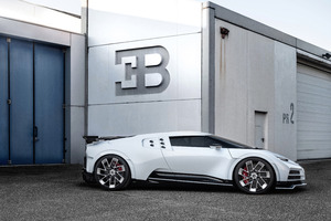 2020 Bugatti Centodieci Side View