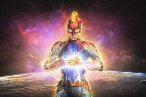 2020 Captain Marvel 4k