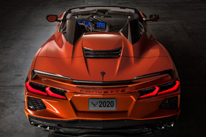 2020 Chevrolet Corvette C8 Stingray Convertible Wallpaper
