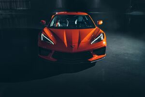 2020 Chevrolet Corvette Stingray C8 8k Front Wallpaper