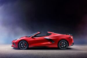 2020 Chevrolet Corvette Stingray C8 New Wallpaper