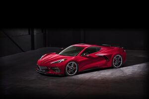 2020 Chevrolet Corvette Stingray C8 Wallpaper