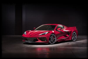 2020 Chevy Corvette Stingray C8 New Wallpaper