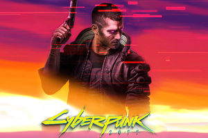 2020 Cyberpunk 2077 Game Wallpaper