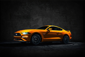2020 Ford Mustang 4k Wallpaper