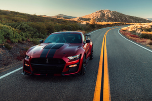 2020 Ford Mustang Shelby GT500 4k Wallpaper