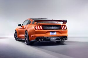 2020 Ford Mustang Shelby GT500 Rear Wallpaper