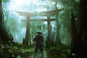 2020 Ghost Of Tsushima Game