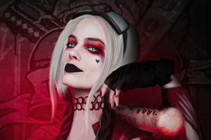 2020 Harley Quinn Margot Robbie 4k
