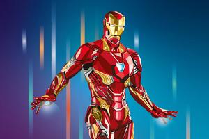 2020 Iron Man 4k Artwork