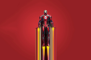 2020 Iron Man 4k New Art Wallpaper