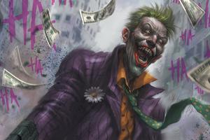 2020 Joker Artwork 4k