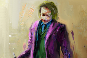 2020 Joker Sketch Artwork Wallpaper