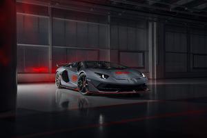 2020 Lamborghini Aventador SVJ 63 Roadster Wallpaper