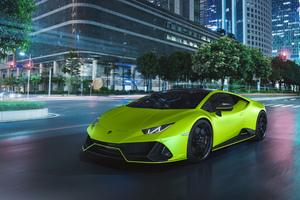 2020 Lamborghini Huracan EVO Fluo Capsule Wallpaper