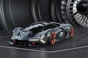2020 Lamborghini Terzo Millennio 4k New Wallpaper