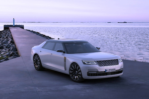 2020 Land Rover Sedan Wallpaper
