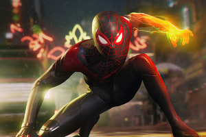 2020 Marvels Spider Man Miles Morales New 4k