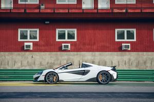 2020 McLaren 600LT Spider Sideview 5k