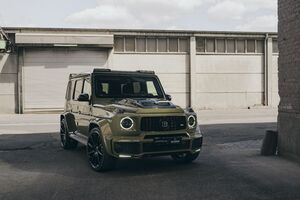 2020 Mercedes AMG G63 Brabus 700 Wallpaper