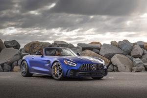 2020 Mercedes AMG GT R Roadster 4k