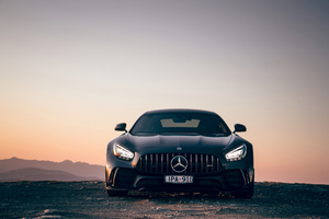 2020 Mercedes Amg Gtr 4k Wallpaper