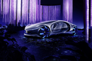 2020 Mercedes Benz Vision AVTR Wallpaper