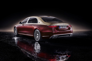 2020 Mercedes S Class Maybach 5k Wallpaper
