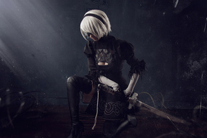 2020 Nier Automata 4k Wallpaper