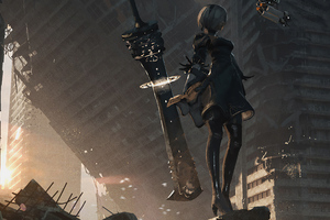 2020 Nier Automata Art 4k Wallpaper