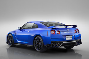 2020 Nissan GT R R35 50th Anniversary Edition Rear