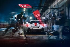 2020 Porsche 911 RSR Wallpaper