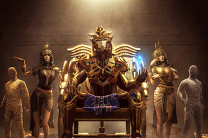 2020 Pubg Golden Pharaoh X Suit Wallpaper