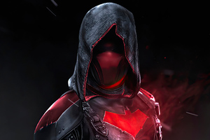 2020 Red Hood 4k Wallpaper