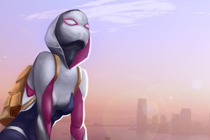 2020 Spider Gwen 4k Artwork Wallpaper