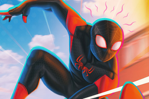 2020 Spider Man 4k Miles Wallpaper