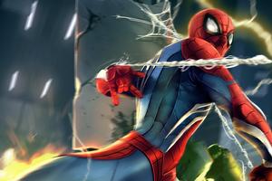 2020 Spider Man Artwork