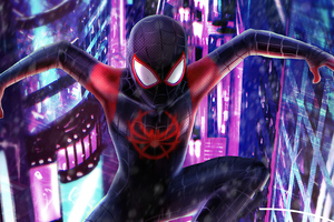 2020 Spider Man Miles 4k Art Wallpaper