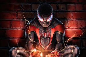 2020 Spider Man Miles 4k Artwork