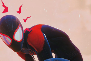 2020 Spider Man Miles Morales Wallpaper