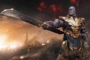 2020 Thanos 4k Wallpaper
