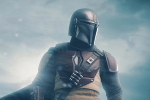 2020 The Mandalorian 4k New Wallpaper