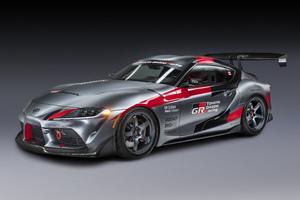 2020 Toyota Gr Supra Track Concept 5k Wallpaper