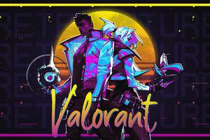 2020 Valorant Game 4k Wallpaper