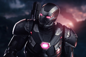 2020 War Machine 4k Wallpaper