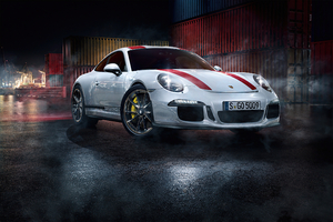 2020 White Porsche 918 4k Wallpaper