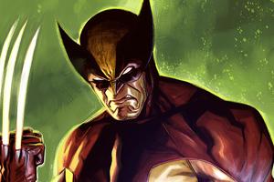 2020 Wolverine Claws 4k Artwork
