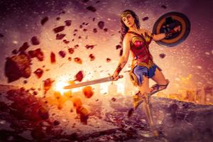 2020 Wonder Woman 4k Cosplay
