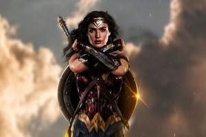 2020 Wonder Woman 4k